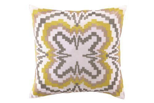 trina-turk-ikat-yellow-embroidered-decorative-pillow-18-by-18-inch-yellow-grey-by-trina-turk