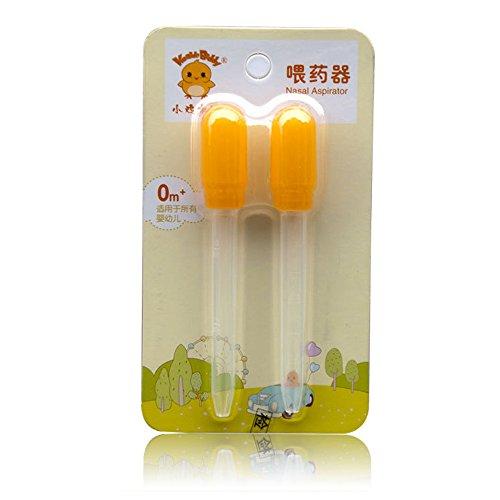 Baby-Medizin-Dispenser-mit-Klar-Kalibrierung-0-25-ml-Silikon-Dropper-Baby-ersticken-verhindern-Spritze-gelb
