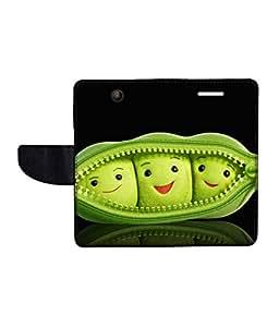 KolorEdge Printed Flip Cover For Microsoft Lumia 430 Multicolor - (43KeMlogo10267Lumia430)