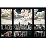 (24x36) New York Window Poster
