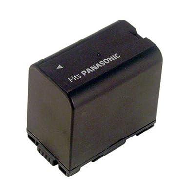 Hi-Capacity Camcorder Battery for: Panasonic NV-MX500EG