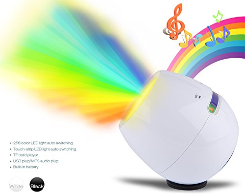Deler Led Mood 256 Colors Changing Table Desk Light Touch Bar Lamp & Dancing Speaker For Iphone Ipad Mp3 Mp4 Pc