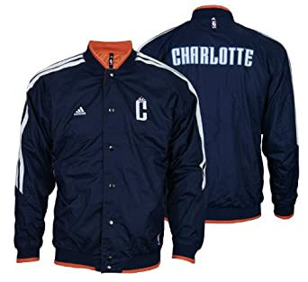 Buy Adidas Boys Charlotte Bobcats NBA On Court Reversible Jacket by adidas