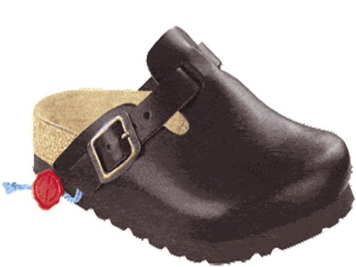 Birkenstock Original Boston Leder