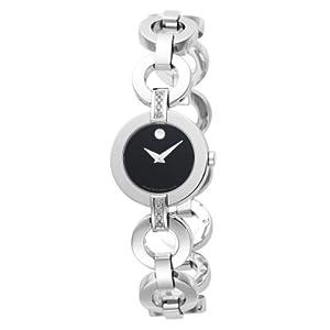 Movado Women's 606263 Belamoda Stainless-Steel Bracelet Watch