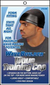 WAVE BUILDER Training Cap Black (Model: 685)