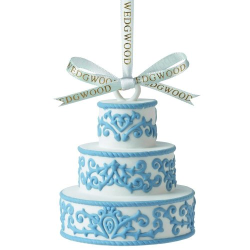 Wedgwood 2013 Our First Christmas Together, Wedding Cake Ornament
