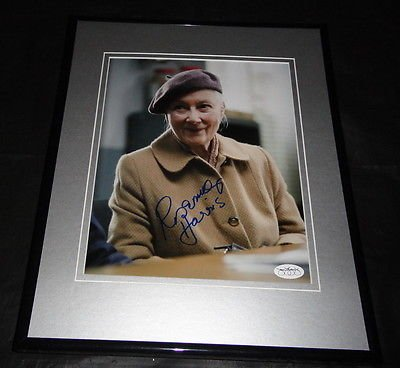 Rosemary Harris Spiderman Signed Framed 8x10 Photo JSA Aunt May