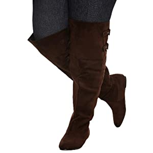 wide calf boots for sale thigh high the knee