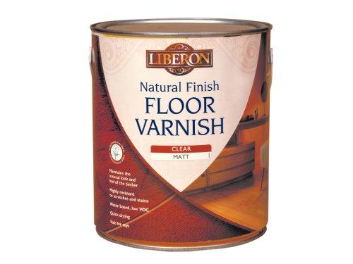 Liberon FVWNCM25L 2.5L Natural Finish Floor Varnish - Clear Matt
