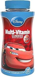 Disney Cars Complete Multi-Vitamin Gummies, 180 Count