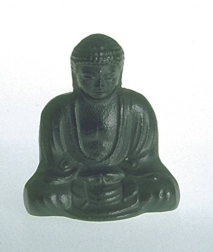 kleine kamakura buddha figur gusseisen aus japan. Black Bedroom Furniture Sets. Home Design Ideas
