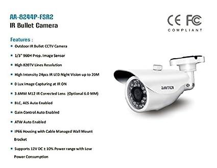Avtron-AA-8244P-FSR2-820TVL-IR-Bullet-CCTV-Camera