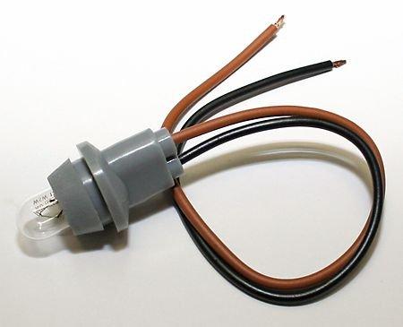 feu de position Ampoule avec socle en caoutchouc pour phare utilisation 90mm et autres avec D. env. 14-15mm, e certifié