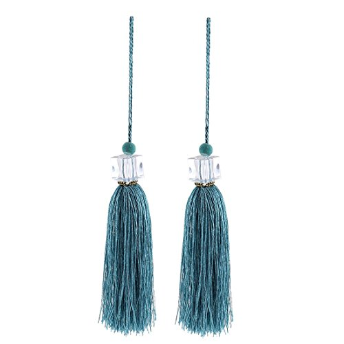 silky-quasten-anhanger-diy-fertigkeit-vorhang-drapierung-deco-2pcs-light-green