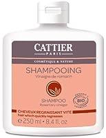 Cattier Shampooing Cheveux Gras Vinaigre de Romarin 250 ml Lot de 2