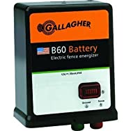 GallagherG351504B60 Electric Fence Charger-B60 12V BATTERY