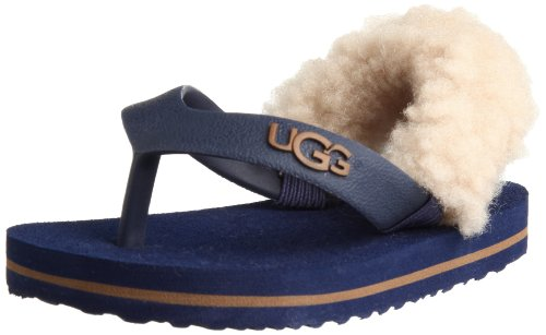 Ugg Australia Yia Yia Blu and Chestnut Baby Infradito-Size Small