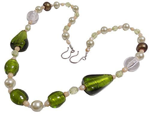 2-x-green-cream-beaded-gem-glass-acrylic-drape-curtain-tiebacks-holdbacks-30-76cm