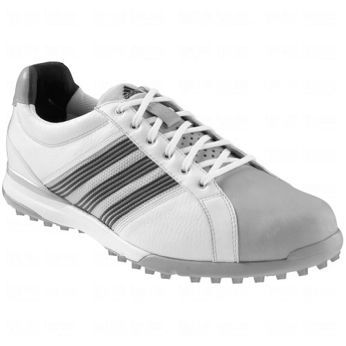 adidas adidas Golf Men's Adicross Tour Spikeless Running White/Black/Aluminum 10 D - Medium
