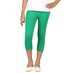 BELONAS Girl's PAK.Green Capris