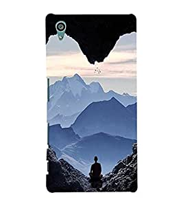 EPICCASE Keep Calm and Meditate Mobile Back Case Cover For Sony Xperia Z5 (Designer Case)