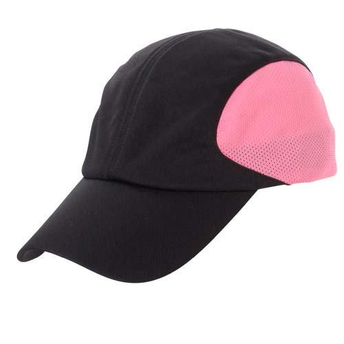 SPORTS AUTHORITY  ランニング アクセサリー 帽子 キャップ ブラック/ピンク 7