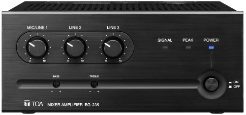 Buy Bargain TOA BG-235 Mixer Amplifier 35W 3 Input 1 MicLine Switchable Two Zone System Capability