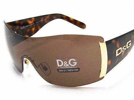 Dolce & Gabbana D&G 8039 502/73 Havana Gold Sunglasses Brown Lens Size: 31-01-130