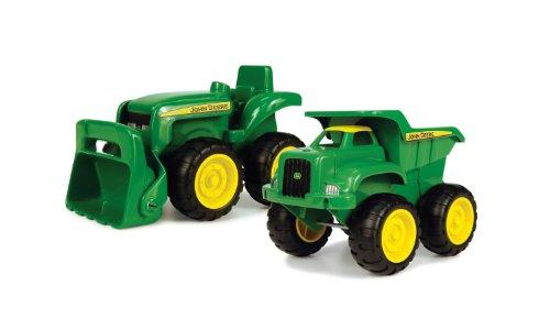 John Deere - Conjunto con tractor, excavadora y camión de carga (TOMY 30692952)