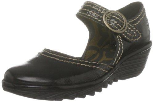 Fly London Yerba Black Shoe Casual P500177902 6 UK Youth