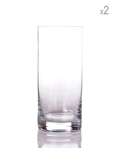 Cristal de Sévres Caja 2 Vasos Altos Ambroisine