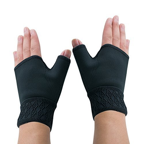 denshine-1pair-support-gloves-arthritis-carpal-tunnel-weak-hand-wrists-aching-compression