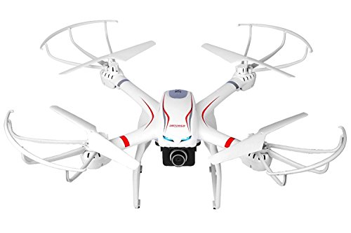 DBPOWER FPV RC Drone with HD 720P Wifi Camera Quadcopter for GoPro, One Key Return Function and Headless Mode for IOS & Android, Compatible with 3D VR Headset