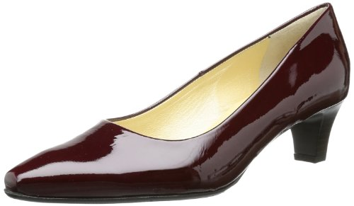 Peter Kaiser EILEEN Pumps Womens Red Rot (aubergine Crakle) Size: 39.5