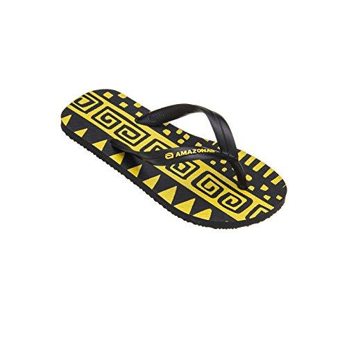 infradito-ragazzo-amazonas-godere-di-xingu-giallo-e-nero
