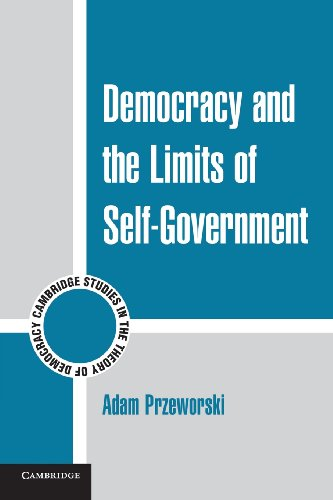 Democracy and the Limits of Self-Government (Cambridge...