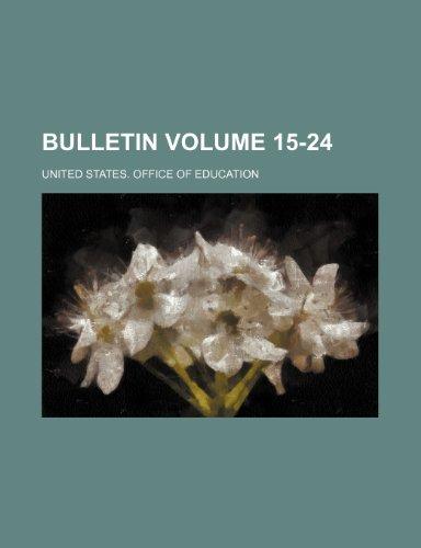 Bulletin Volume 15-24