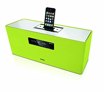 Review and Buying Guide of The Best Loewe SoundBox Audio System with CD/FM Radio and iPod/iPhone Dock - Green