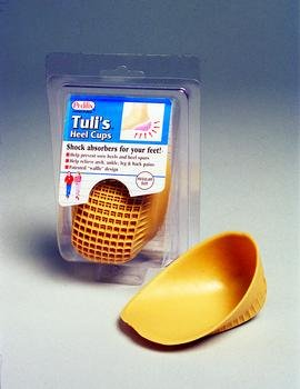 Tuli's Heel Cups, Large, 175 lbs and Up
