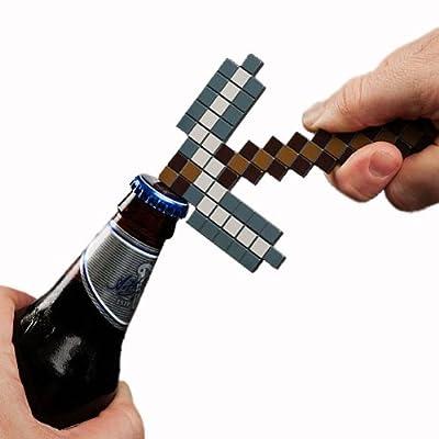 Minecraft Pickaxe Bottle Opener by ThinkGeek