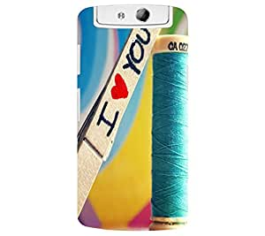 perfect print Back cover for Oppo N1