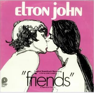 Original album cover of Friends by Elton John