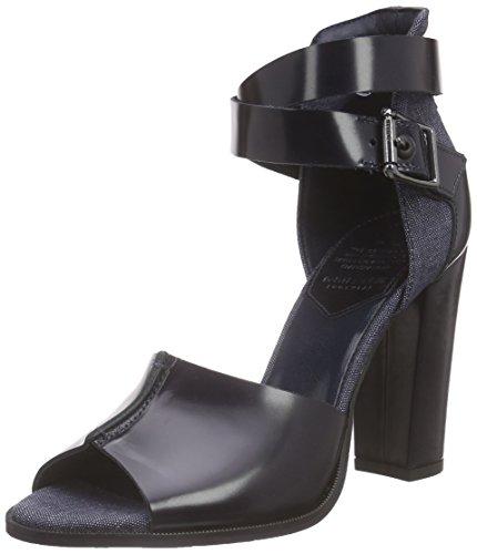 G-Star Raw Donna, Sandalo, Revend Heel Sandal, Blu (Chambray-3735), 38