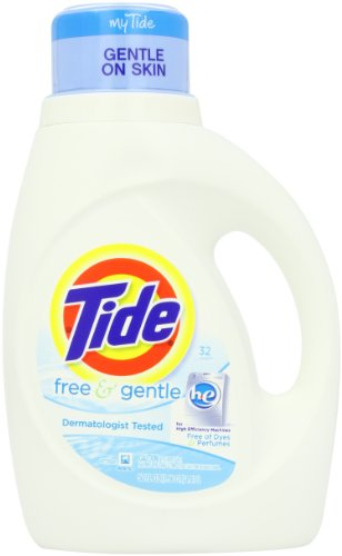 Tide Free and Gentle High Efficiency Unscented Det