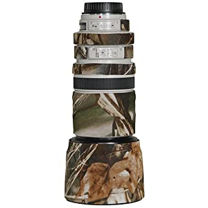 LensCoat Lens Cover for the Canon 100 - 400mm IS f/3.5-f/5.6 Zoom Lens - Realtree Advantage Max4 (m4)
