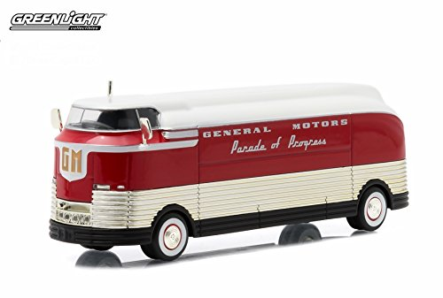 1940 GENERAL MOTORS FUTURLINER * PARADE OF PROGRESS * 2015 Hobby Exclusive Greenlight Collectibles Limited Edition 1:64 Scale Die-Cast Vehicle & Custom Display Case (Die Cast Display Case 1 64 compare prices)