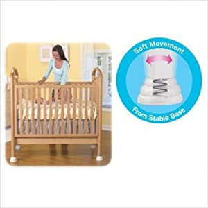 Munchkin Rock-A-Bye Crib Bases 4-Pack, Turn Your Crib into a Cradle