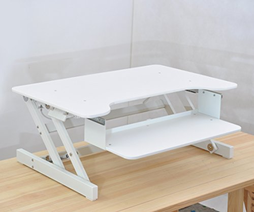 ergonomia ergonomic height adjustable standing desk sit to stand desk desk riser black and white