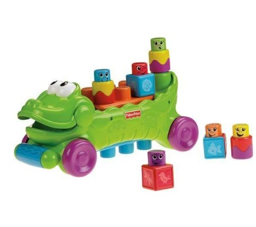 FISHER PRICE Musical Croc Block Wagon Reviews